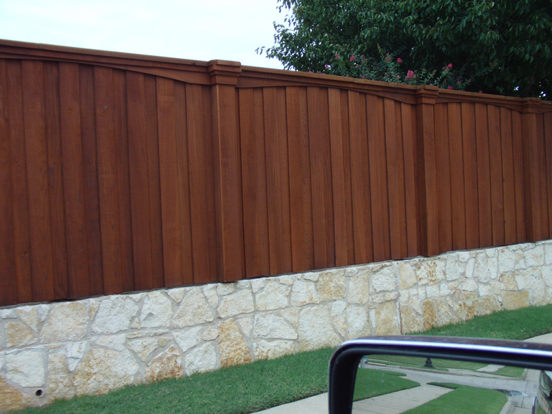 Fence installation repair staining company in plano