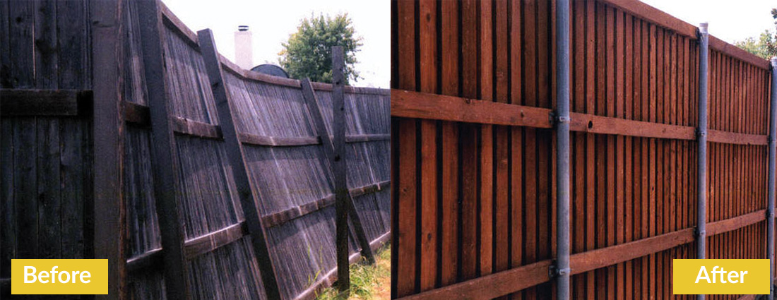 Fence Makeovers Before and After 1