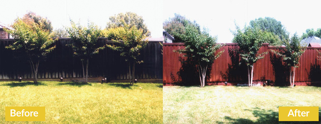 Fence Makeovers Before and After 5