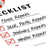 Plano Fence Repair checklistMER HOME CHECKLIST