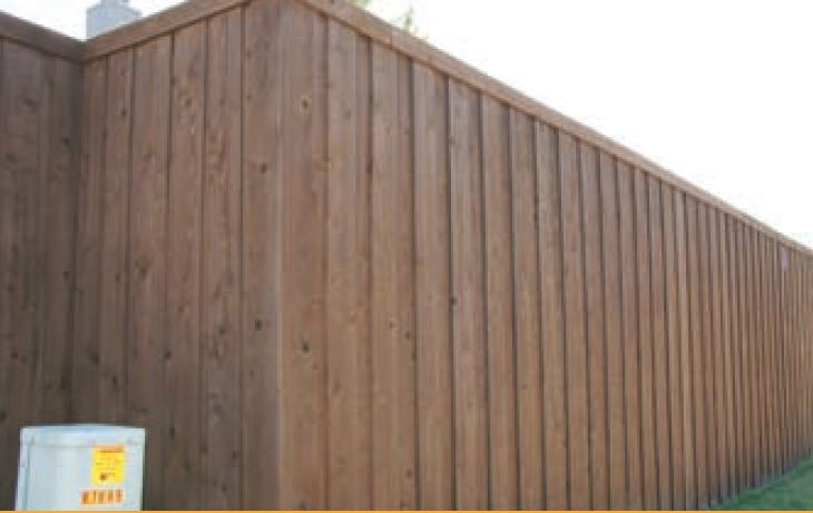 Fence Installation Repair & Staining Service Color Walnut