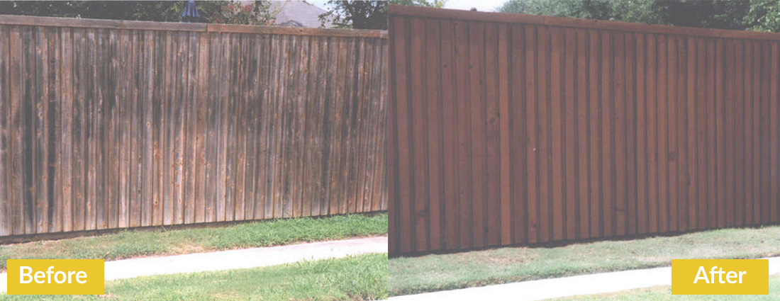 Fence Makeovers Before and After 2