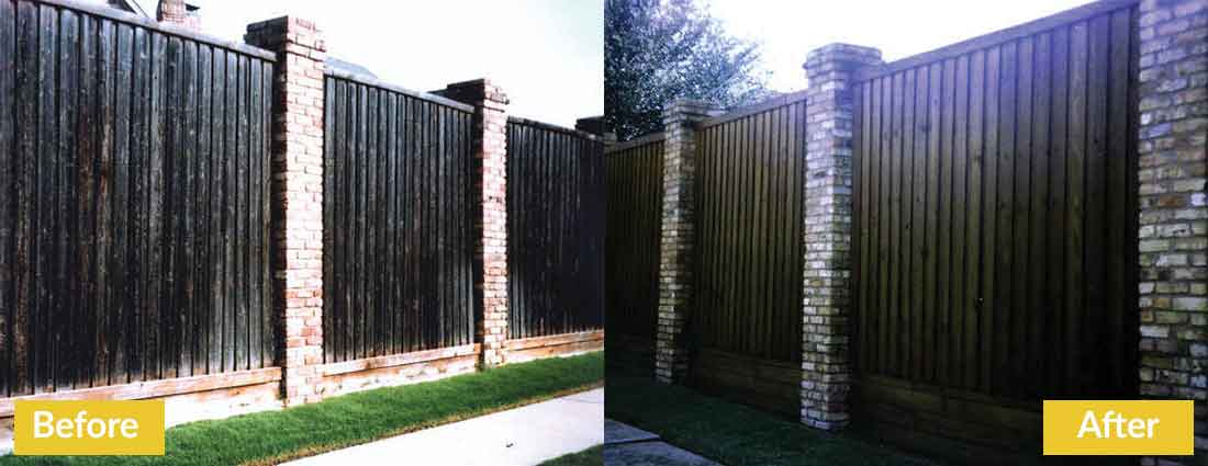 Fence Makeovers Before and After 3