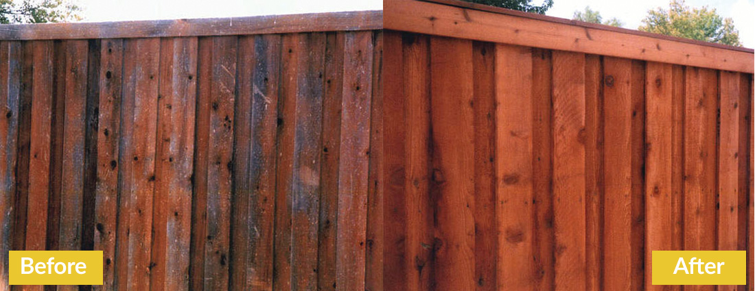 Fence Makeovers Before and After 4