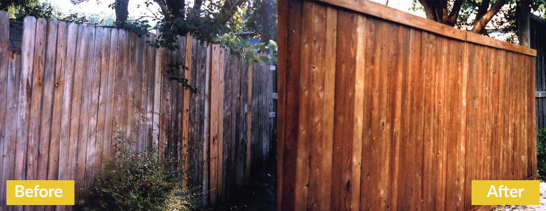 Fence Makeovers Before and After 7