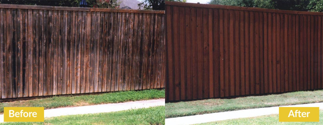 Fence Makeovers Before and After 9