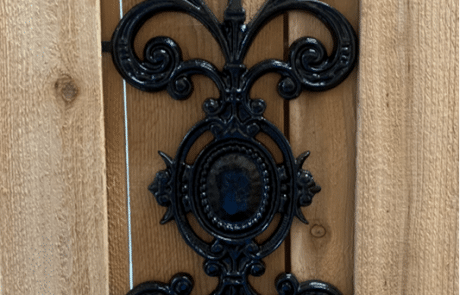 Gate Decorative Ornaments Pontalba Design Aluminum Casting