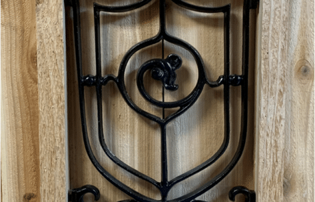 Gate Decorative Ornaments Victorian Style Design Aluminum Railing