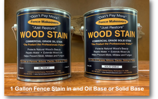 1 gallon fence stain