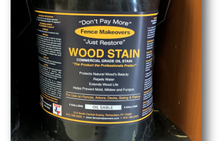 5 gallon fence stain