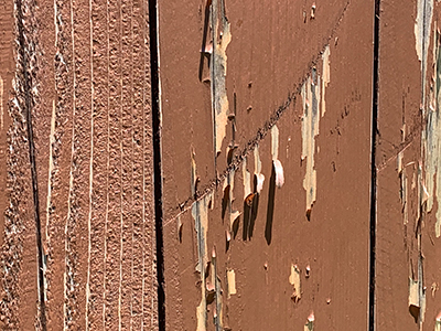 Fence restain