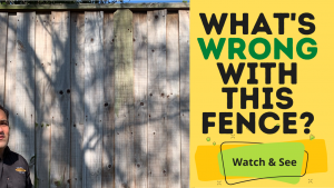 Fence problems