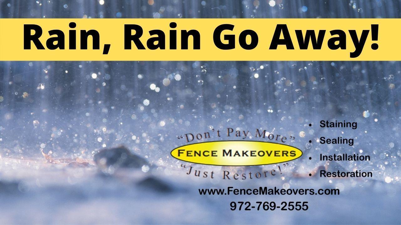 Fence Repair in the Rain